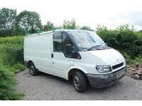 Ford Transit 2004 2 litre Diesel with Roof Rack