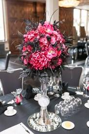 WEDDING FLOWER DISPLAYS - For wedding, party or house decoration