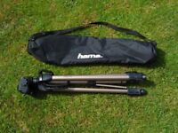Hama Star 63 Full Size Camera Tripod with Case, as New