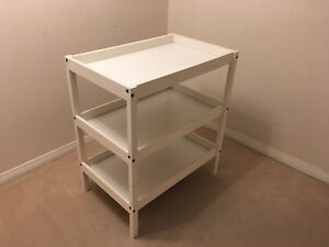 White changing table **price reduced**