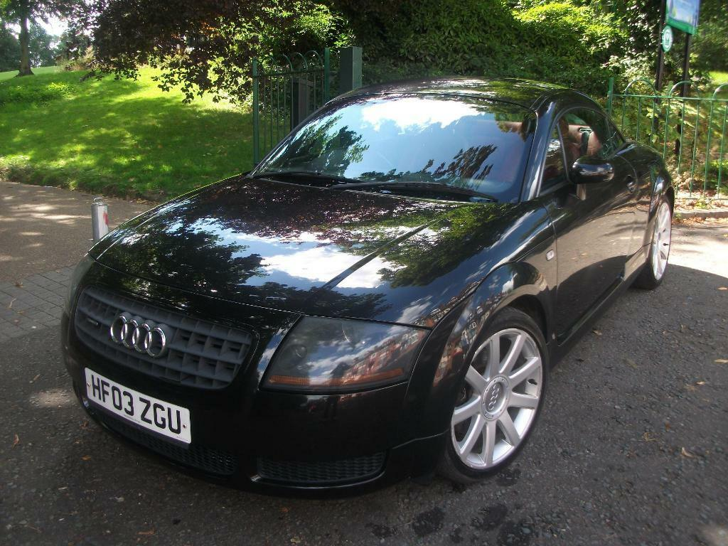 audi tt 1 8 t quattro 2dr 180 6 black 2003 in leicester leicestershire gumtree. Black Bedroom Furniture Sets. Home Design Ideas