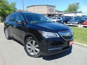 2014 Acura MDX ELITE PKG - NO ACCIDENTS! - NAVI - DVD