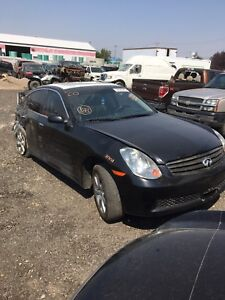 Parting out 2005 Infiniti g35x awd