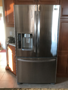 For sell: LG French Door Refrigerator & Electric Range