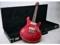 Paul Reed Smith PRS Custom 20th Anniversary Cherry Quilt Top & Original Case
