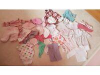Baby girl bundle 0-3,3-6