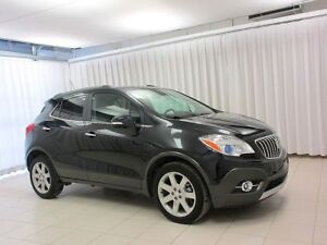 2016 Buick Encore AWD CROSSOVER SUV w/ HEATED LEATHER SEATS,SUNR