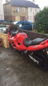 Gfsx600 for sale asking £750 no offers it has a private plate on it will not be going with the bike