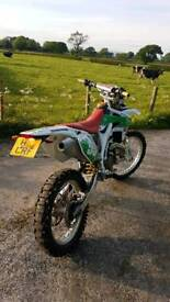 Honda crf 450 road registered CRF private plate