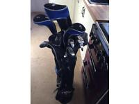Good condition bay hill golf clubs and case