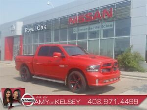 2013 Ram 1500 Sport - Navi & Leather Interior