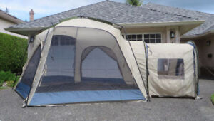 Dining Tent -Woods Modular Screen Tent with Connecting Room