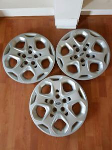 3 - 17 inch hubcaps