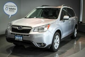2015 Subaru Forester i Touring Sunroof + Power Driver Seat + Bac