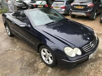 Mercedes CLK 240 Cabriolet Fantastic condition low mileage just serviced needs nothing