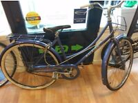 Raleigh Caprice working order new parts tyre and seat 3 speed vintage low step cycle
