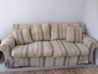 Tetrad 4 seater sofa plus armchair.