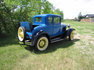 1930 Model A 45B Standard Coupe - Rumble Seat