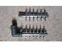 12 way koi air valves x2