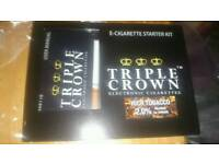 Triple crown e-cig starter kit