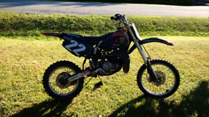 Honda Cr 80 Two-Stroke Dirt Bike