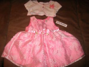 PINK FORMAL DRESS with little jacket