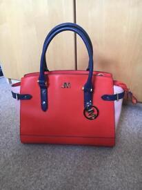 Beautiful Julian Macdonald orange handbag