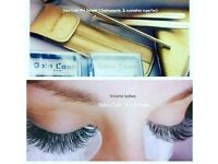 Russian Volume Eyelashes and courses 07854413791