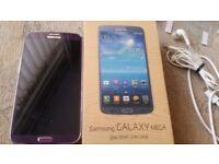 Samsung galaxy mega boxed,,,,docking/fakenham