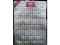 orthpaedic double mattress, 190 x 135cm, good quality 18cm (8 inch) thick. In excellent condition.