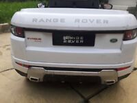 Battery operated kids range rover