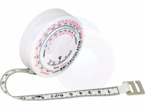 BMI Body Mass Index Tape Measure Calculator Retractable Measurin