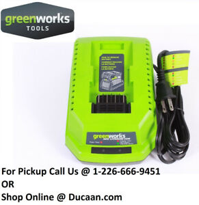 Genuine GreenWorks 29482 G-Max 40V Lithium Ion Battery Charger