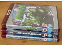 3 x HD DVDs The Bourne Ultimatum | The Bourne Supremacy | The Hulk