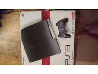 PS3 console + 9 games + 2 controllers