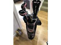 Womens Ben Sayers M7 Golf Clubs plus accessories