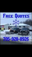 SnowPlow Sale on Yearly Contracts!