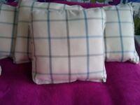 6 Brand New Cushions - Will Split