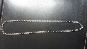 Solid silver Italian necklace