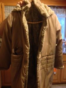 Manteau d'hiver long