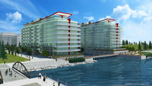 Waterfront condo