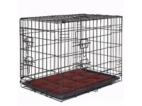 Large dog crate - black, inc. non-slip mat