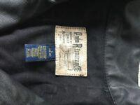 Child's Ralph Lauren waxed cotton biker style jacket - aged 14/16