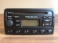 Ford Transit radio CD player, excellent condition with code