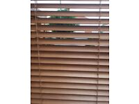 Wooden Venetian Blinds, 60cm x 180cm