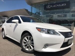 2014 Lexus ES 300h 1 Owner Premium Pkg Backup Cam Leather Sunroo