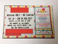 V Festival ticket