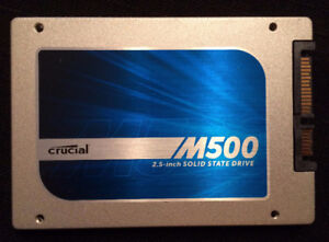 Crucial 480GB SSD 6Gbps