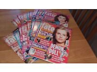 Chat it's fate magazine x 22 copies 2008 & 2009