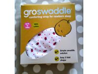 2 x Groswaddles Age 0-3 months